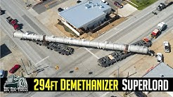 Demethanizer Tower Superload - Lone Star Transportation