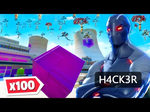 Can 100 players BEAT A HACKER?!