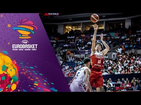 Cedi Osman (11pts, 7reb, 4ast, 2bs) guides Turkey to win over Great Britain