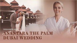 Stunning Anantara The Palm Dubai Wedding Videography - Beach Wedding - Morning Jacket Films