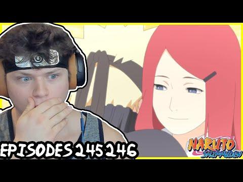 NARUTO MEETS HIS MOM! Naruto Shippuden REACTION: Episode 245, 246