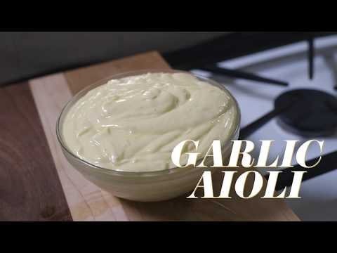 Garlic Aioli Recipe