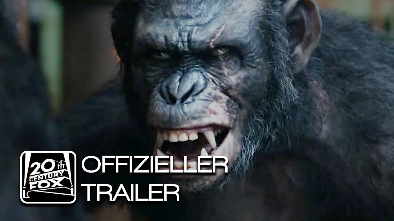 Planet Der Affen Revolution Trailer German