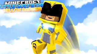 LITTLE CARLY IS THE YELLOW POWER RANGER w/Raven (Minecraft Roleplay)