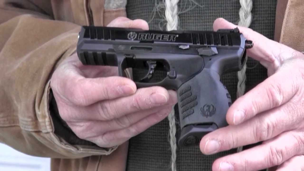 Shooting The Ruger Sr 22 Pistol With Threaded Barrel