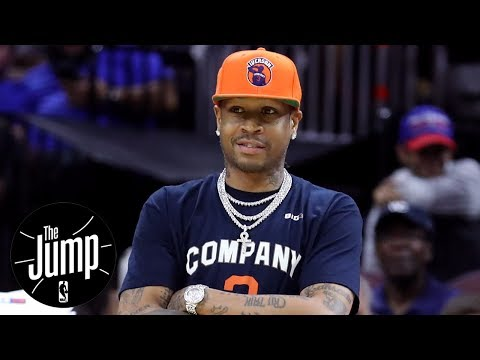 Crowd Unhappy Allen Iverson Did Not Play Big3 Game In Philly | The Jump | ESPN