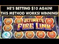 OUR WINNING METHOD ON ULTIMATE FIRELINK SLOT MACHINE! HUGE PROFIT! Bonus in every denomination!