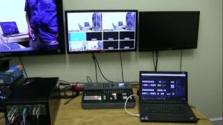 Displaying Titles And Graphics On The Blackmagic Atem Television Studio Pro Hd Switcher Youtube