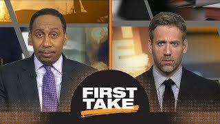 Stephen A. and Max react to Warriors defeating Rockets in Game 7 | First Take | ESPN