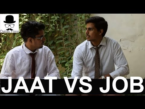 JAAT VS JOB (FUNNY INTERVIEW) | DABAS...
