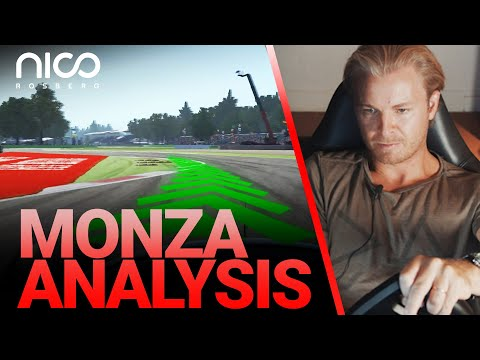 How to Master the Monza F1 Track!   Nico Rosberg