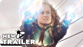 CAPTAIN MARVEL Fight Scene & Trailer (2019) Marvel Movie