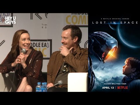 Lost in Space Netflix Press Conference MEFCC  Molly Parker  Toby Stephens