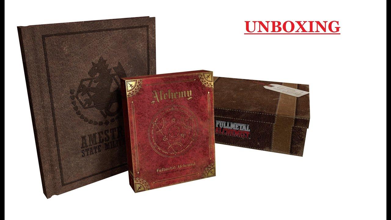 Download Unboxing Fullmetal Alchemist Collectors Edition Bluray ♥♥♥