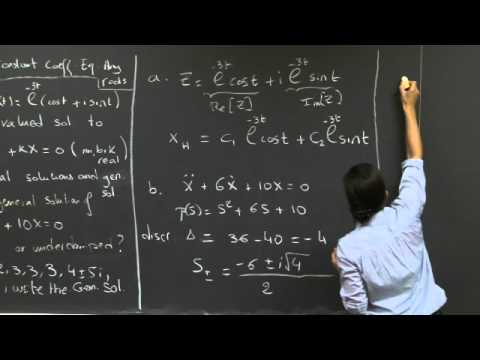 mit opencourseware differential equations