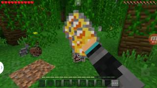 майнкрафт пе мод алмазные блоки #3