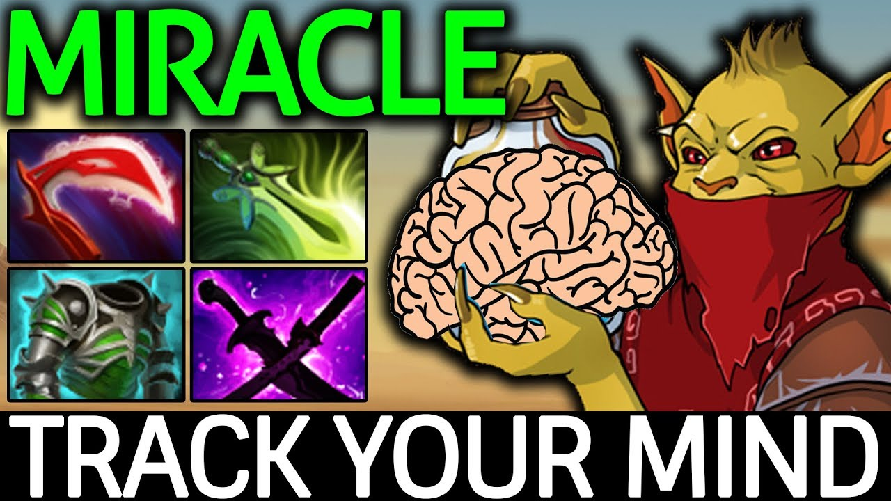 miracle dota 2 bounty hunter track your mind carry build