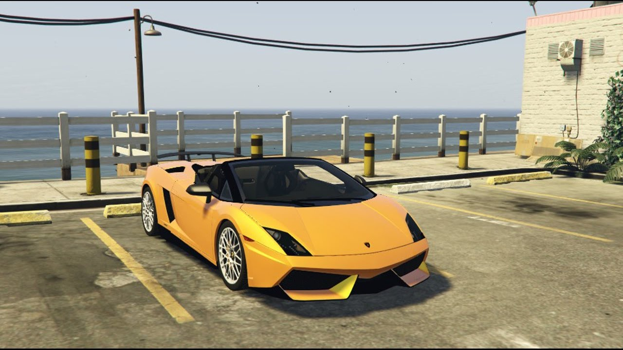 Gta 5 Lamborghini Gallardo Lp570 Spyder Gta V Real Car Mods