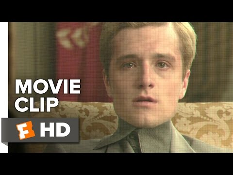 The Hunger Games: Mockingjay - Part 1 Movie CLIP #8 - Peeta Warns Katniss (2014) - Movie HD