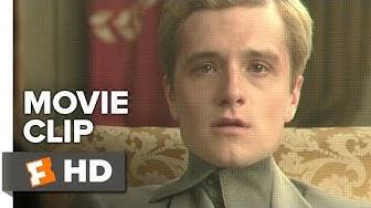 The Hunger Games: Mockingjay - Part 1 Movie CLIP #8 - Peeta Warns Katniss (2014) - Movie HD