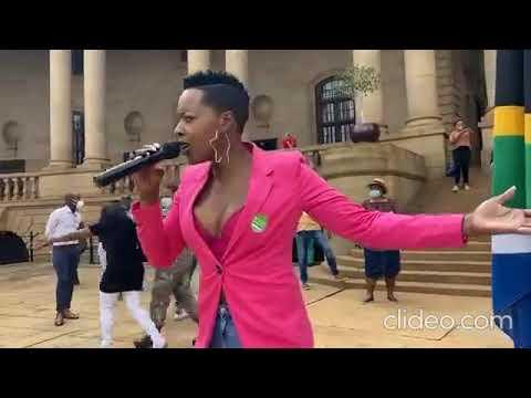 👆 Jerusalema Dance Challenge Nomcebo Zikode - Master KG LIVE @Union Building Pretoria South Africa 👆