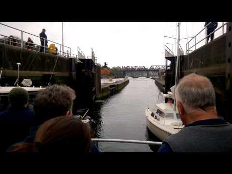 Our First Time Through The Ballard Locks
