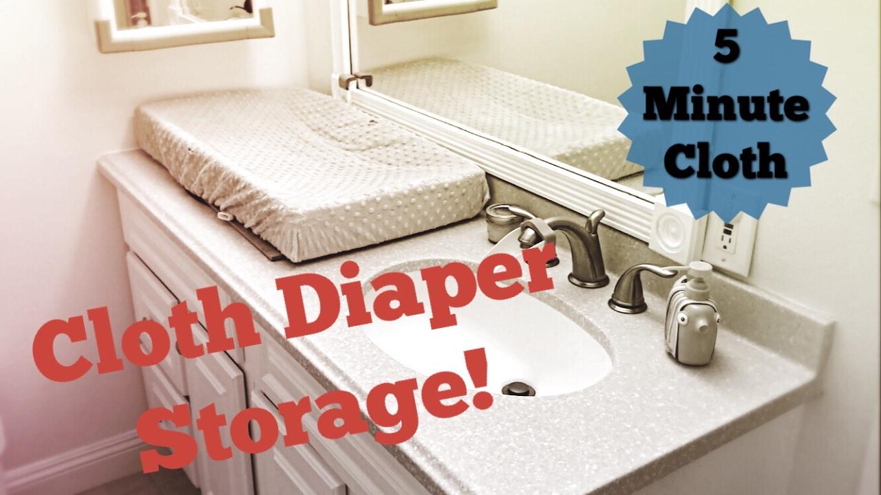 Cloth Diaper Storage u0026 Organization & Cloth Diaper Storage u0026 Organization - YouTube