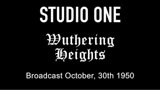 LIVE TV RESTORATION: Studio One - Wuthering Heights