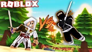 NINJAS VS ASSASSINS IN ROBLOX! (Roblox YIN VS YANG)
