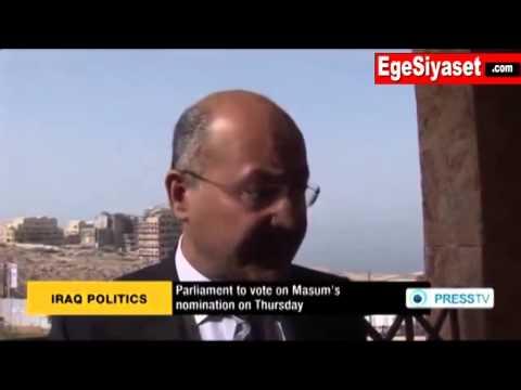 Irak'ta Kürt Aday Fuat Masum Cumhurbaşkanı Seçildi