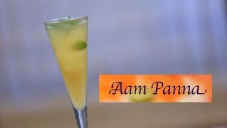 How To Make Aam Panna (raw Mango Cooler) By Smita