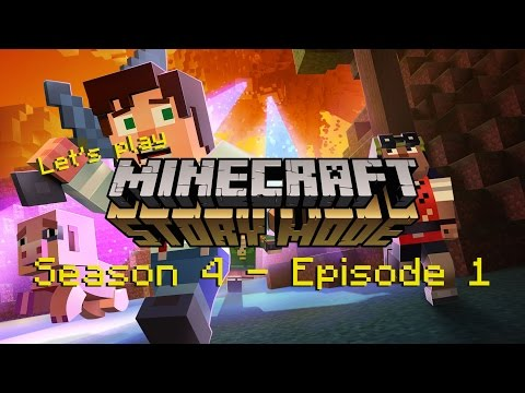 Let's Play Minecraft Storymode  #S4E1- Enderman vs. The Wither - Rich-Chriz [Deutsch] [HD]