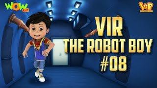 Vir: The Robot Boy #8 - 3D ACTION compilation for kids - As seen on Hungama TV