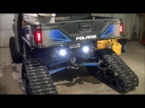 Polaris Ranger LED Backup Light Problem Fixed Using Factory Wires