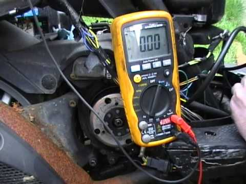 How to Test Stator Ignition CDi, Piaggio 50cc Scooter  YouTube