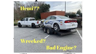 Rebuilding a wrecked Dodge Charger Police Car Part 1