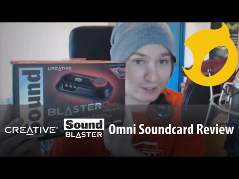 Creative Sound Blaster Omni Sound card Review