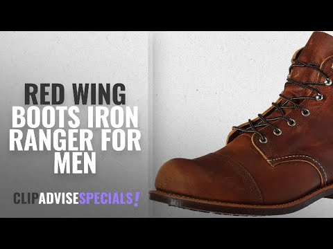 Top 10 Red Wing Boots Iron Ranger [ Winter 2018 ]: Red Wing Heritage Men's Iron Ranger Work Boot,