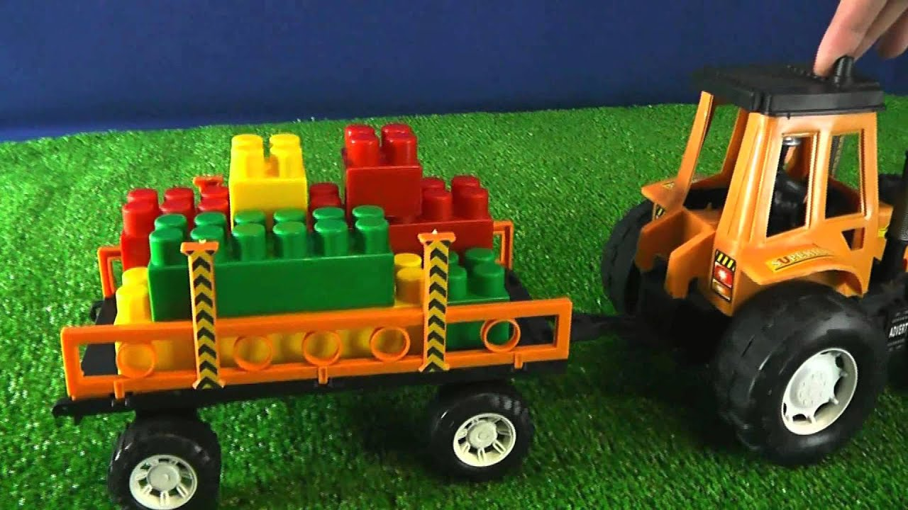 Мультик про трактора. Игрушки для детей. Мультики для ...