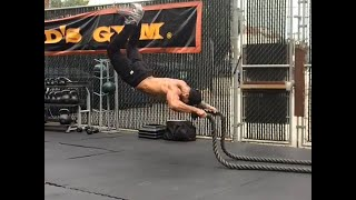 Extreme Battling Rope exercises - For Arms, Shoulders, abs