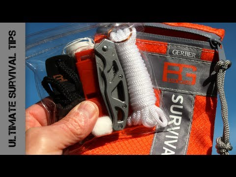 NEW - Gerber Bear Grylls BASIC Survival kit - REVIEW - Best Survival Kit around $20 US?