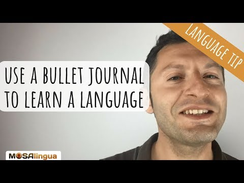 How to Use a Bullet Journal to Learn a Language? (+ Free BUJ