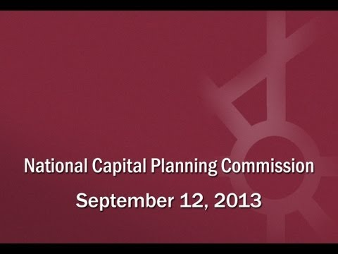 National Capital Planning Commission (USA) September 12, 2013