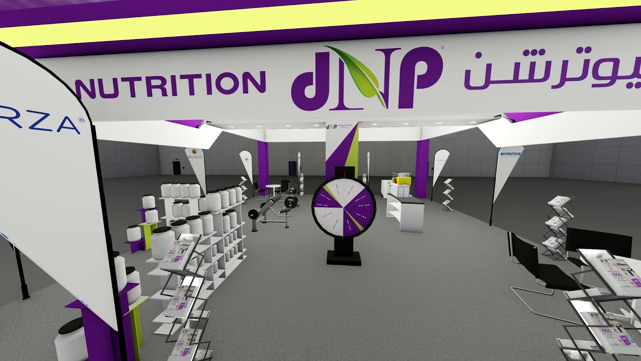 Dr Nutrition Exhibition Stand Proposal Youtube