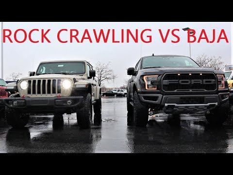 2020 Ford Raptor Vs 2020 Jeep Gladiator Rubicon: Which Truck Is The True King Of The Off-Road???
