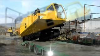 самоходный передвижной сварочный агрегат TWM 180(TWM-180 TRYBERG - современный передвижной самоходный многопостовый сварочный агрегат на гусеничном ходу (трактор..., 2013-11-21T10:13:33.000Z)