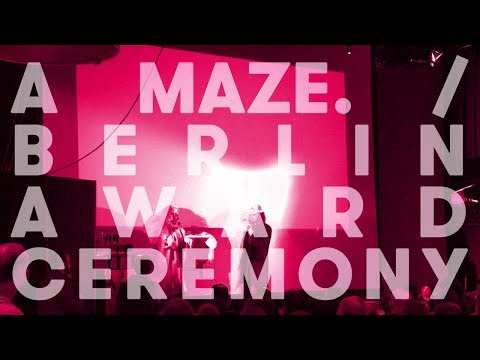 A MAZE. / Berlin 2017 Award Ceremony – hosted by William Pugh, music by Namosh