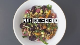 Plate Deconstruction: Roasted Beets Salad with Dan Kluger