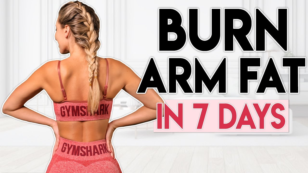 BURN ARM FAT in 7 Days (sexy upper body)   6 minute Workout