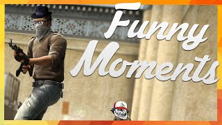 CS:GO - Funny Moments - Knifing Russkhof, Negev Army & Fake AFK!